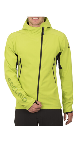 Edelrid McLane Jas Heren Softshell Jacket Men groen